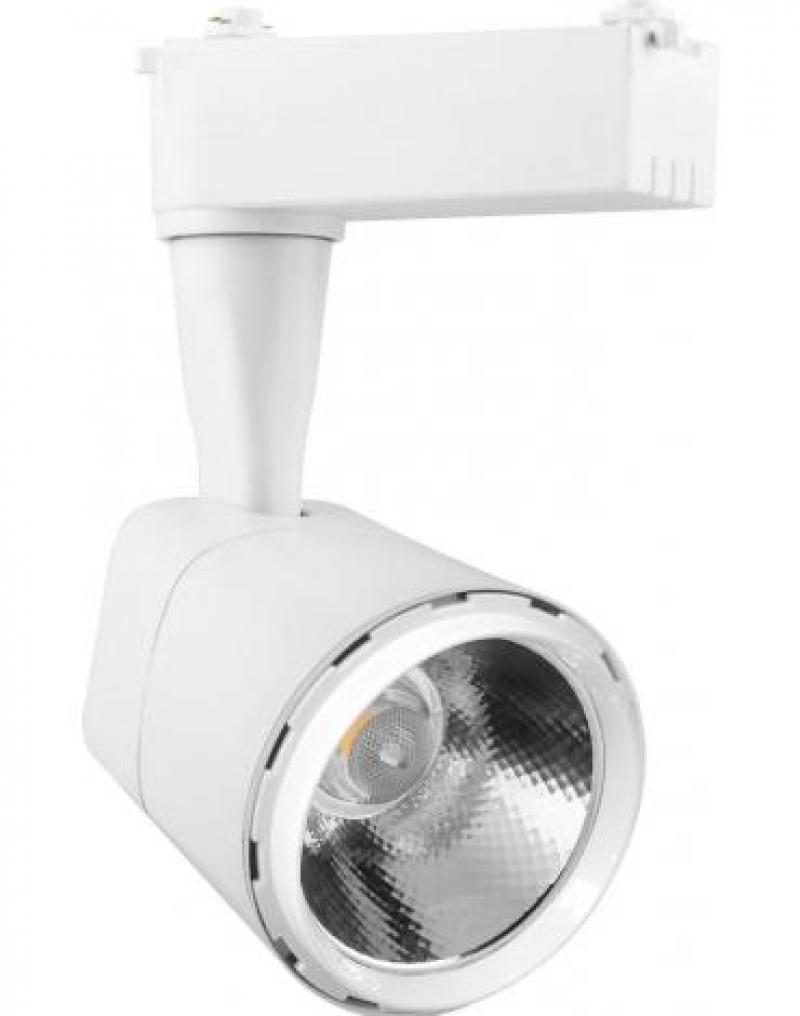 Светодиодный трековый светильник Feron AL101 на шинопровод 12W 4000K 35 градусов 1080 Лм ,белый, с драйвером в комплекте