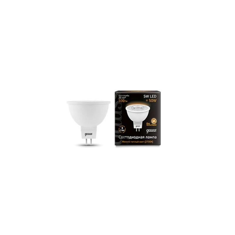 Светодиодная лампа Gauss LED MR16 220-240V 5W SMD/GU5.3/2700К