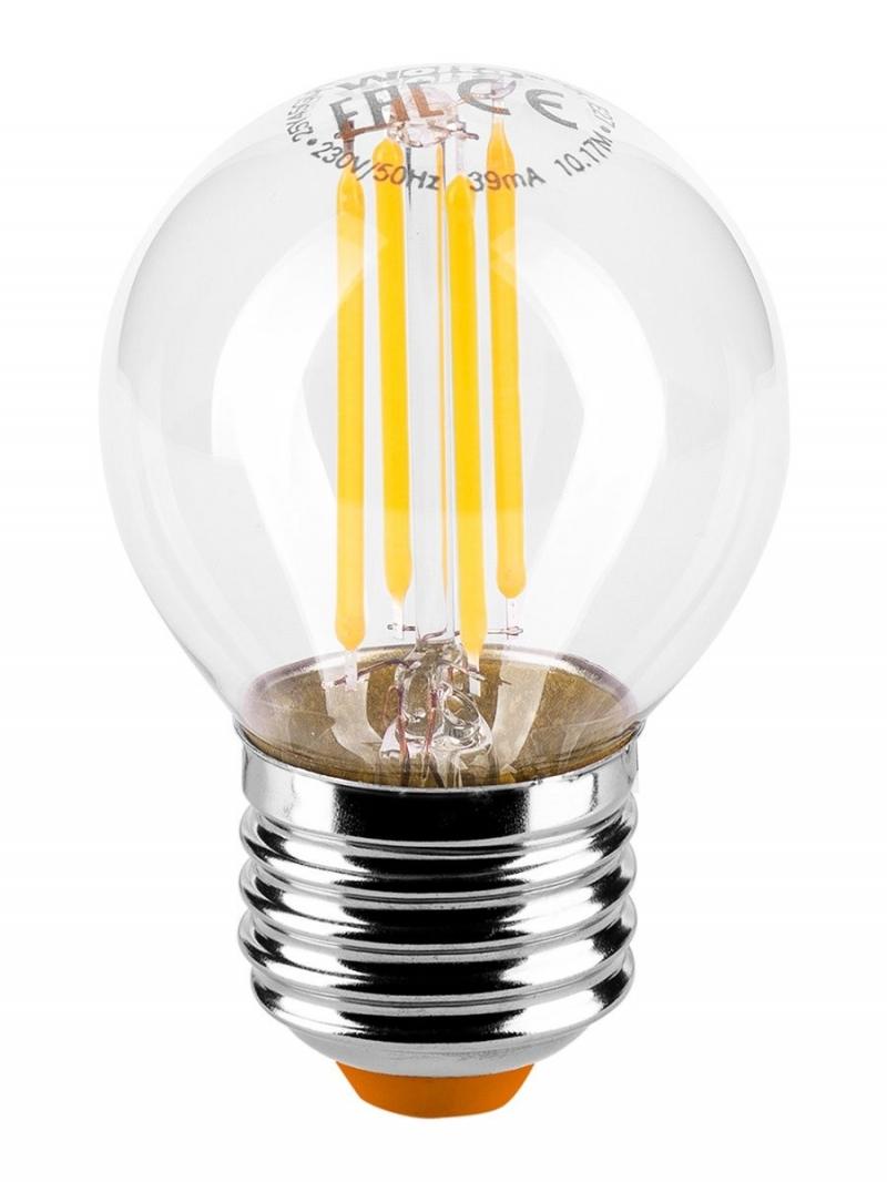 Лампа LED  WOLTA FILAMENT  G45 5Вт 545Лм E27 3000K 1/10/50
