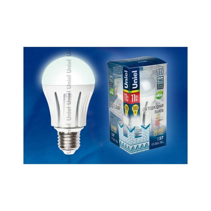 Лампа светодиодная Uniel Merli LED-A60-11W/NW/E27/FR ALM01WH