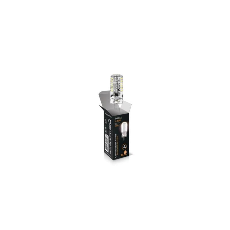 Светодиодная лампа Gauss LED JC 12V 3W/G4/3000К 250 Lm