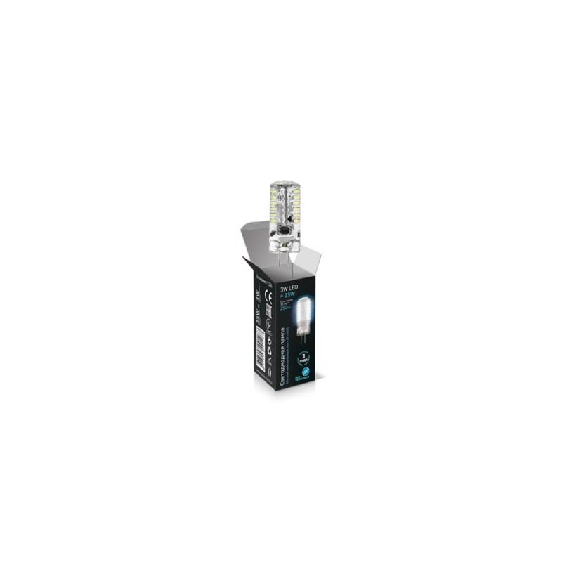 Светодиодная лампа Gauss LED JC 12V 3W/G4/4100К 260 Lm