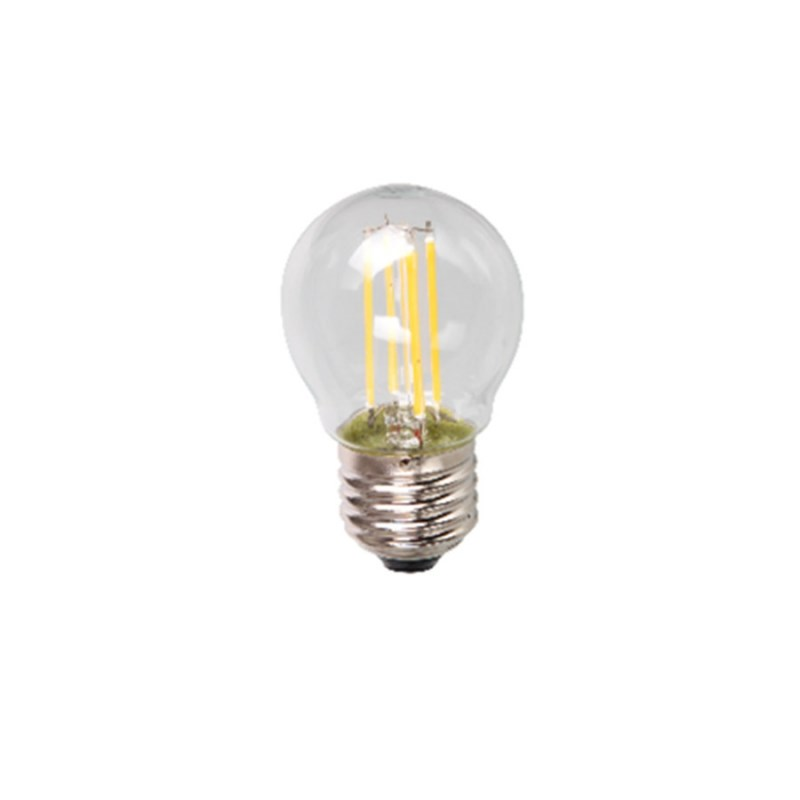 Лампа светодиодная LED-ШАР-PREMIUM 5W 230В Е27 3000К 450Lm прозрачная ASD