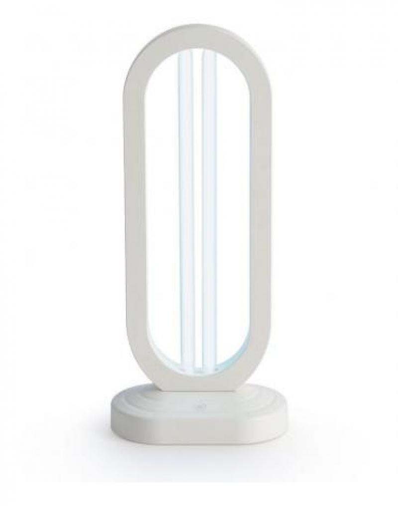 Бактерицидная ультрафиолетовая настольная лампа с таймером отключения Feron UL361 36W белый 140*198*415мм