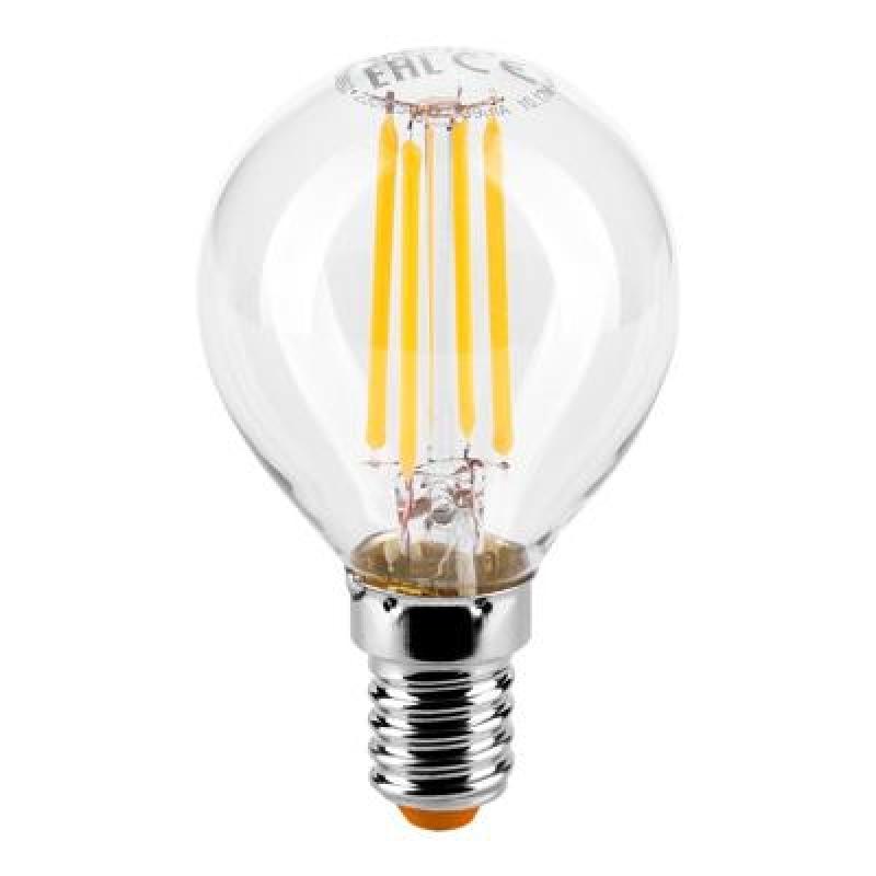 Лампа LED  WOLTA FILAMENT  G45 5Вт 545Лм E14 3000K 1/10/50