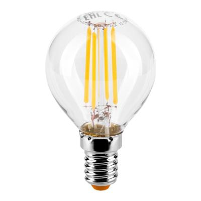 Лампа LED  WOLTA FILAMENT  G45 5Вт 545Лм E14 4000K 1/10/50