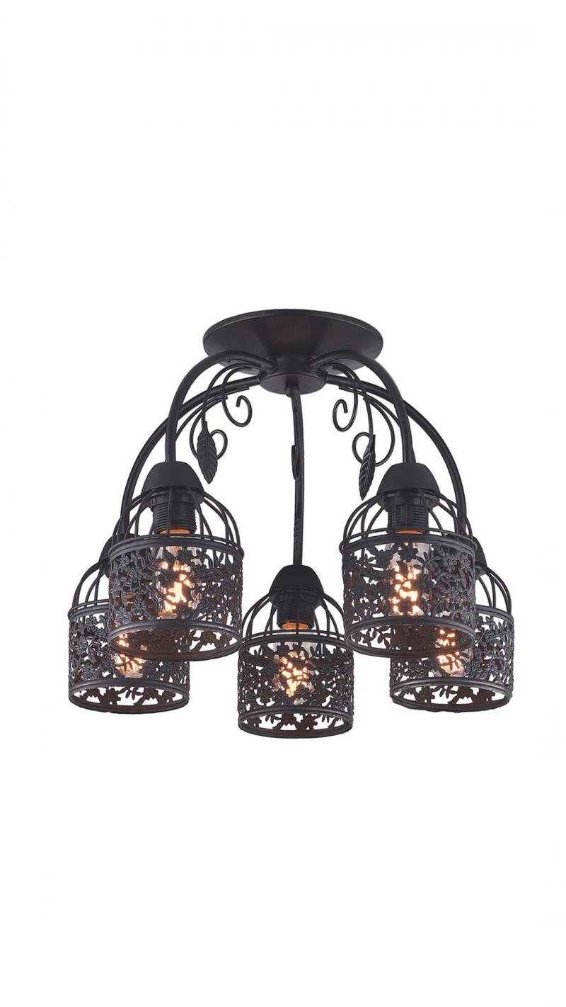 Светильник потолочный Dracula Тип ламп E27 3*40W материал: металл D500*H335