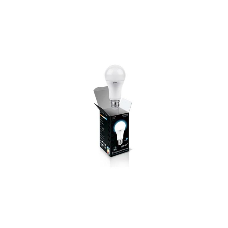 Светодиодная лампа Gauss LED ЛОН 12W Е27 4000К 1270 Lm