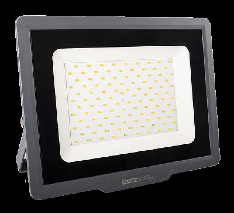 Прожектор JazzWay PFL-C3 50W 6500K 4250Лм светодиодный IP65 черный/серый