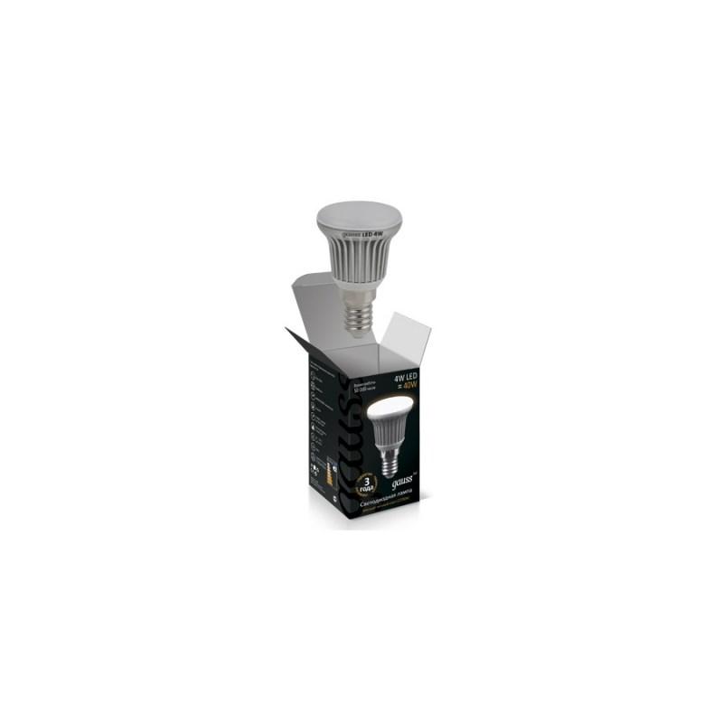 Светодиодная лампа GAUSS Рефлектор 4W E14 2700К 330 Lm