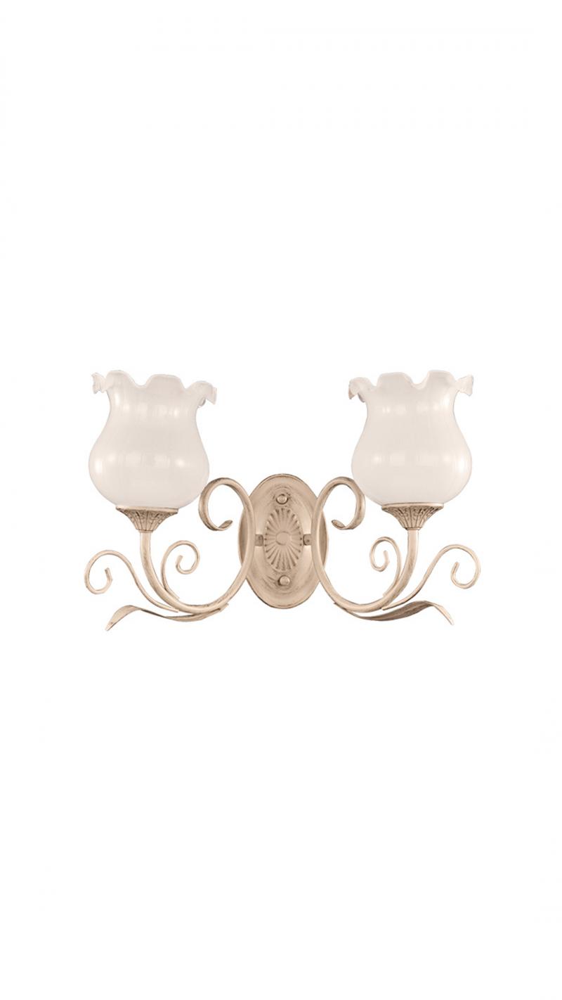 Светильник настенный Velis Тип ламп E27*2*60W материал: металл, стекло L400*H265*E200