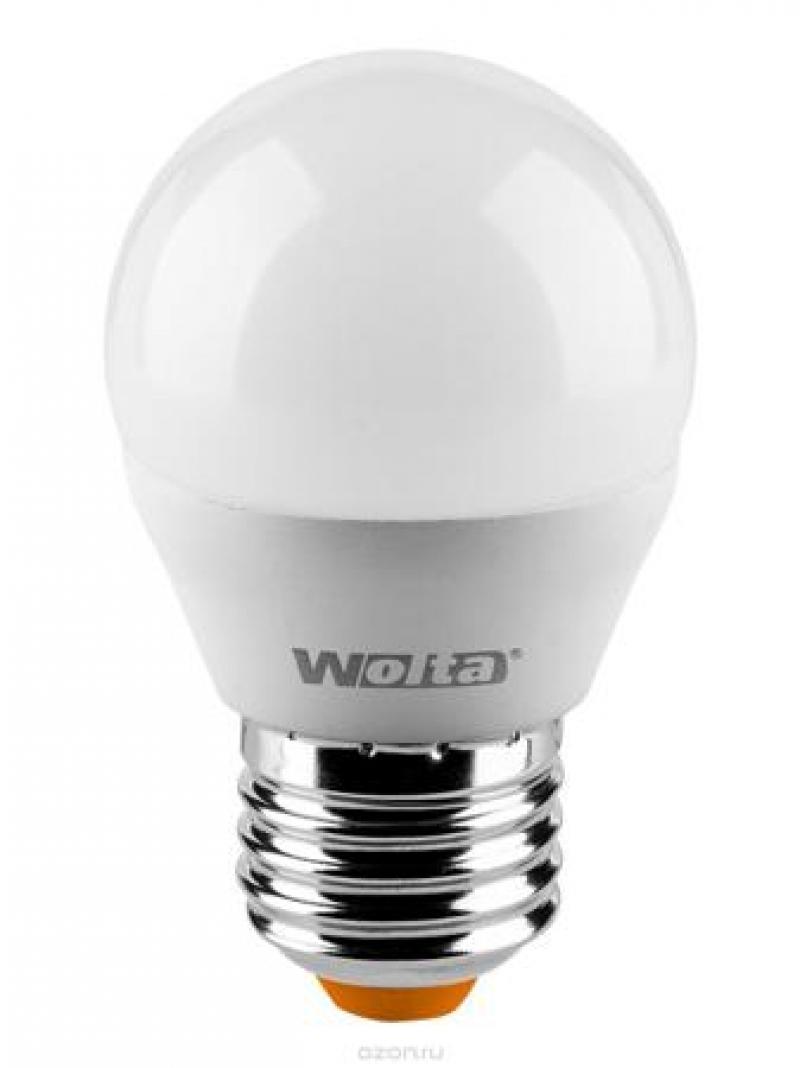 Лампа LED WOLTA G45 8Вт 800Лм Е27 4000К   1/50