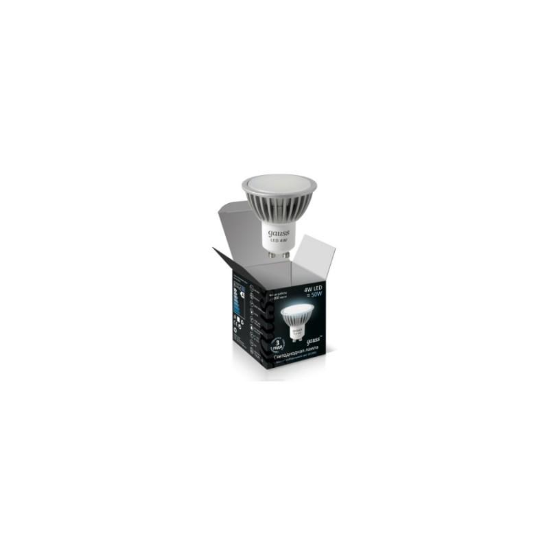 Светодиодная лампа Gauss LED MR16 220V 4W/GU10/4100К 350Lm