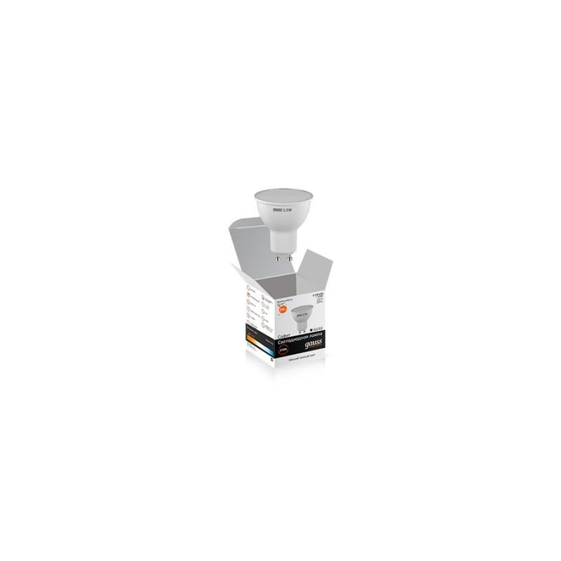 Светодиодная лампа Gauss-Elementary MR16 Софит 3,5W GU10 4000K 290 Lm