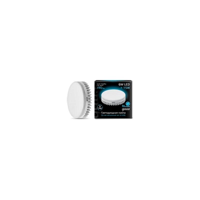 Светодиодная лампа Gauss LED спот 6W-GX53 4100К 490 Lm