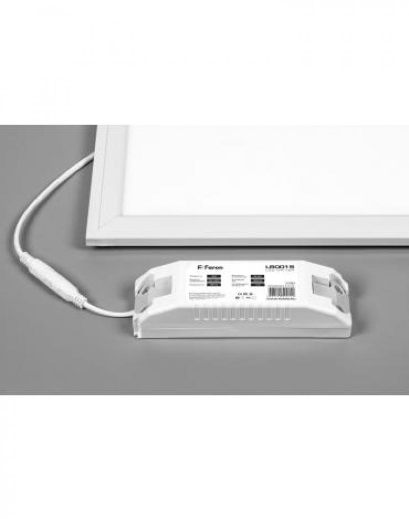 Светодиодная панель ультратонкая Feron AL2113 встраиваемая Армстронг 36W 6500K белый ЭПРА в комплекте