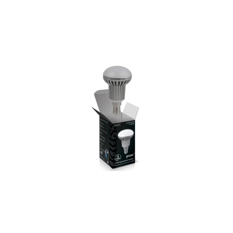 Светодиодная лампа GAUSS Рефлектор 6.5W E14 4100К 720 Lm
