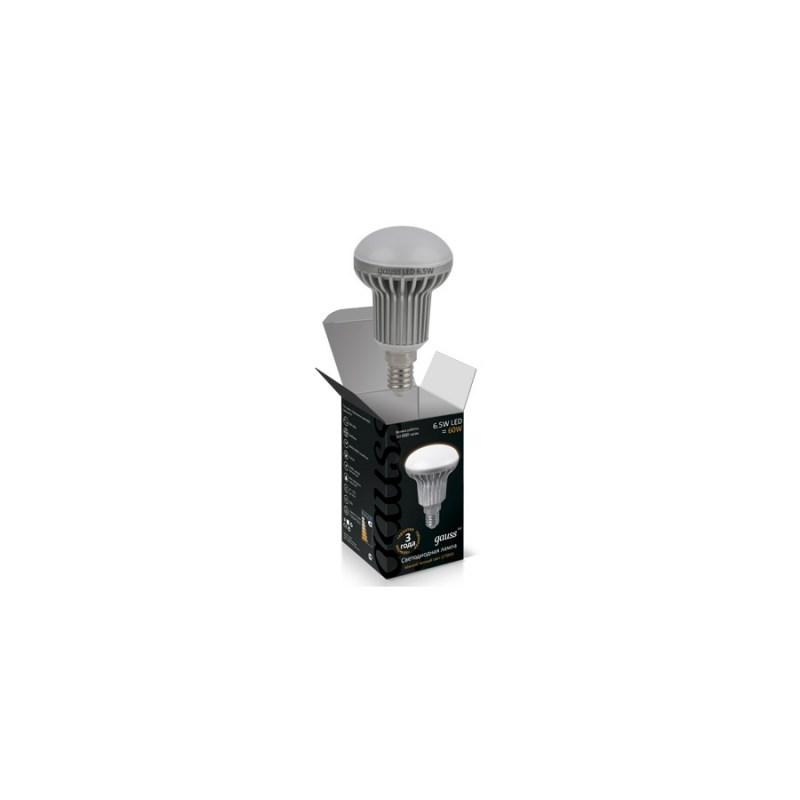 Светодиодная лампа GAUSS Рефлектор 6.5W E14 2700К 680 Lm