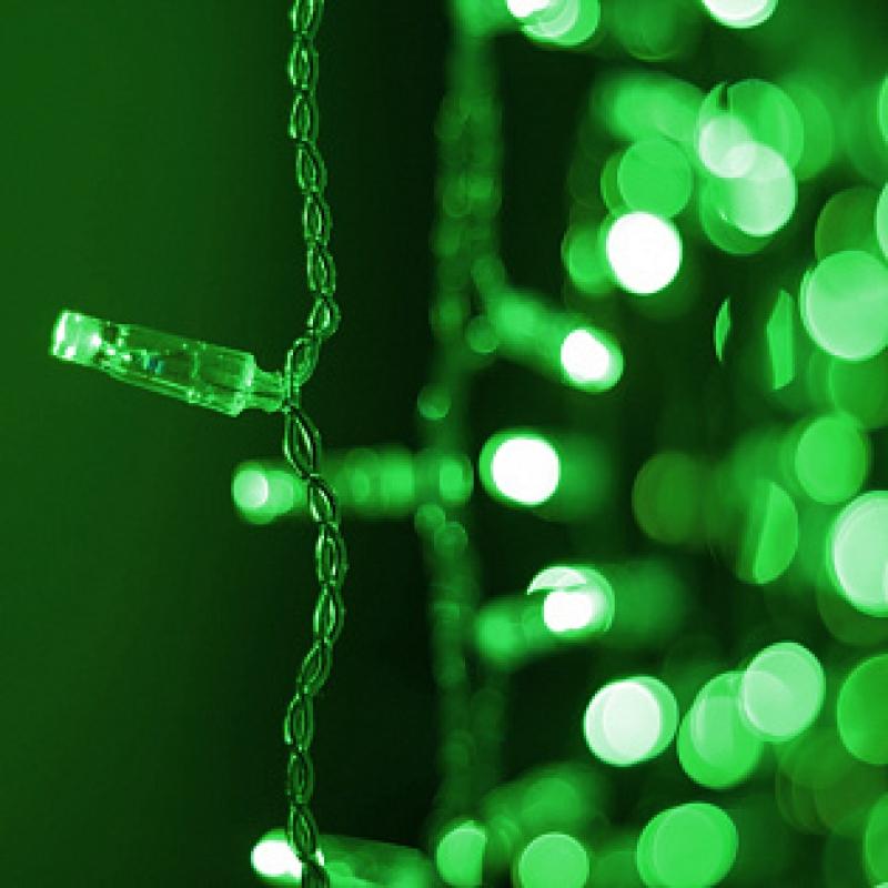 Arlight Светодиодная гирлянда ARD-CURTAIN-CLASSIC-2000x3000-CLEAR-760LED Green (230V, 60W)