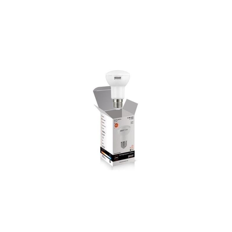 Светодиодная лампа GAUSS-Elementary Рефлектор 7.5W E27 2700К 660 Lm