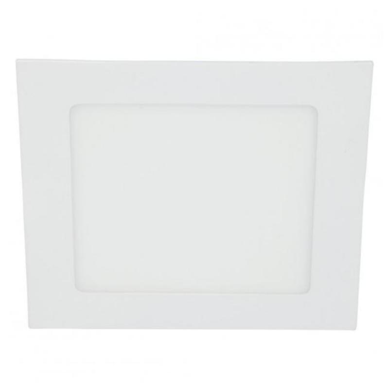 Светильник LED ультратонкий встраиваемый 5W 4000K 325LM квадрат никель 20x80MM