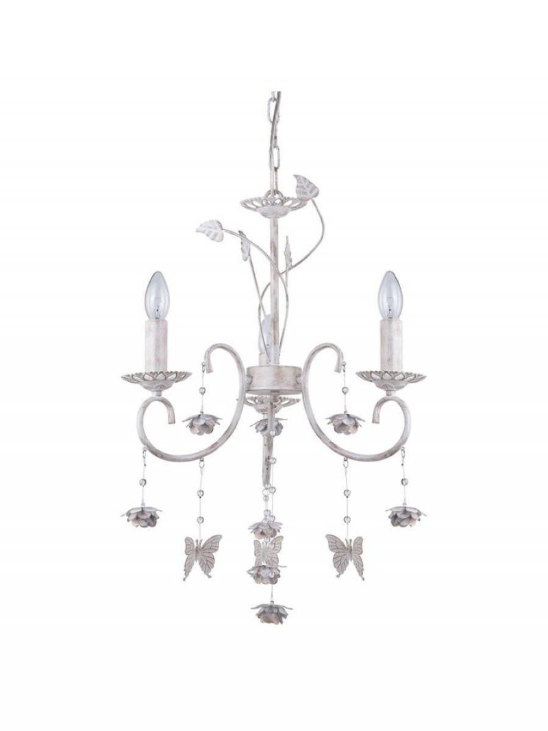 Светильник потолочный Princes Тип ламп E14*3*60W материал: металл, стекло D430*H1000