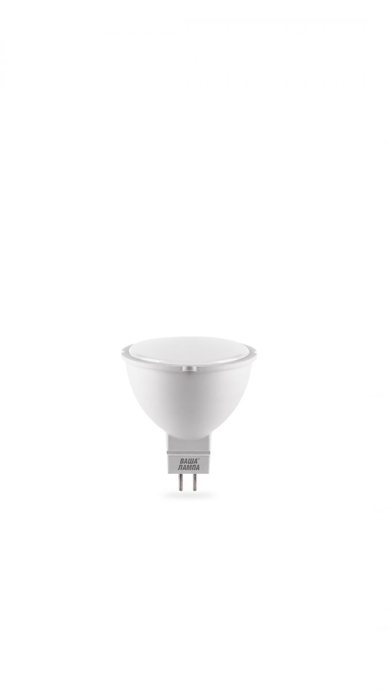 Лампа LED ВАША ЛАМПА MR16 10Вт 900Лм GU5.3 6500К   1/50
