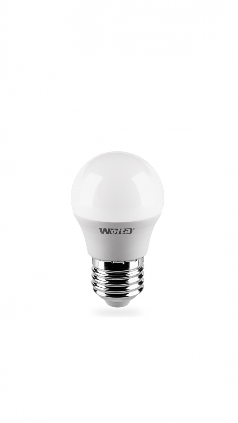 Лампа LED ВАША ЛАМПА G45 7.5Вт 675Лм Е27 3000К   1/50