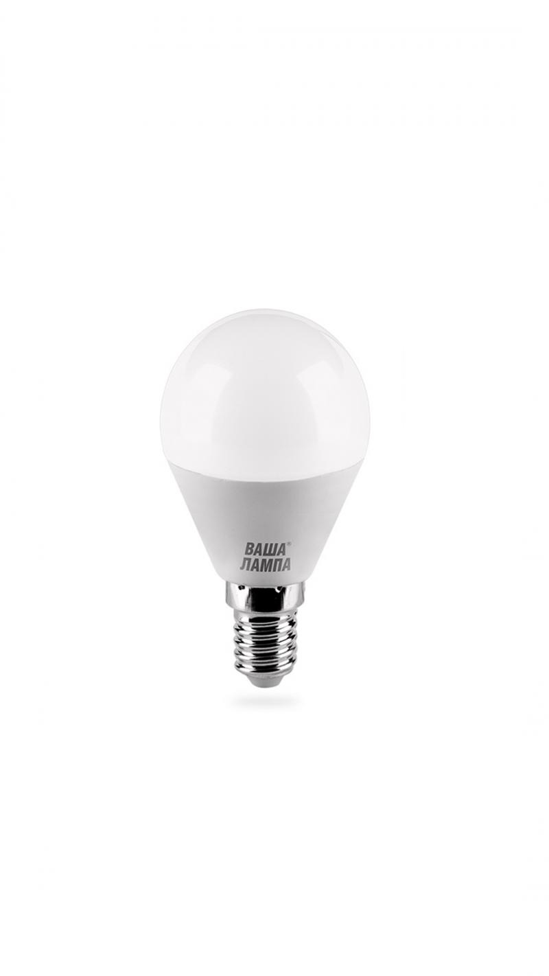 Лампа LED ВАША ЛАМПА G45 10Вт 900Лм Е14 4000К   1/50