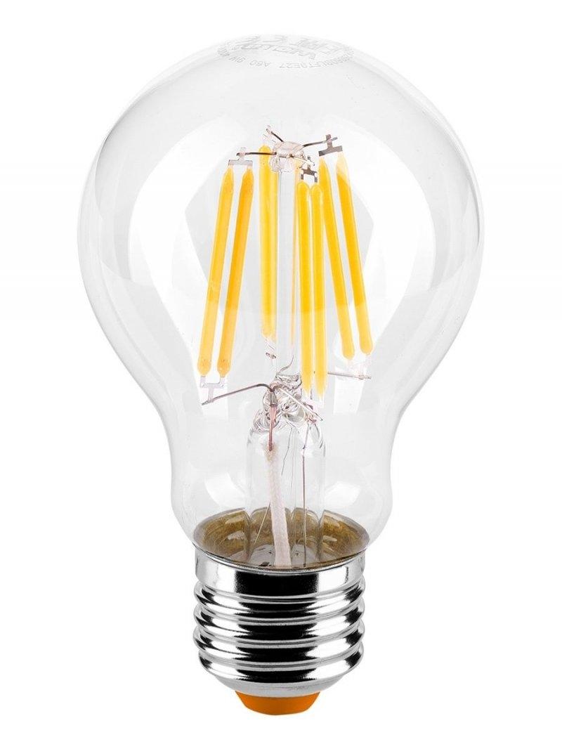 Лампа LED  WOLTA FILAMENT  A60 9Вт 900Лм E27 4000K 1/10/50