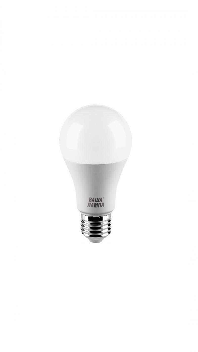Лампа LED  ВАША ЛАМПА A60 9Вт 800Лм Е27 3000К   1/50