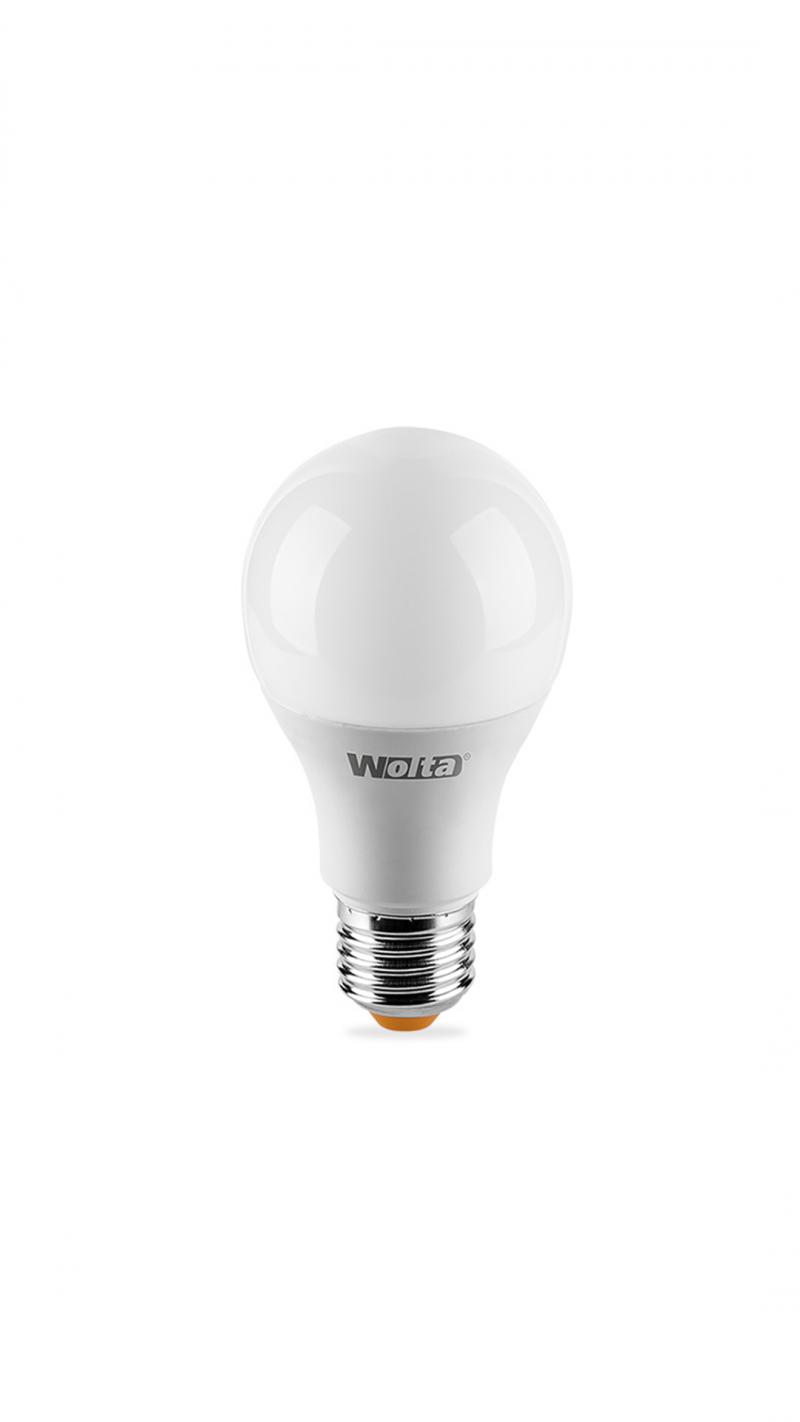 Лампа LED WOLTA Simple A60 12Вт 1200лм  Е27 3000К   1/50