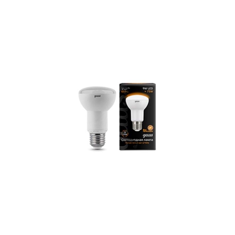 Светодиодная лампа Gauss LED спот R63 E27 2700K 9W 660 Lm