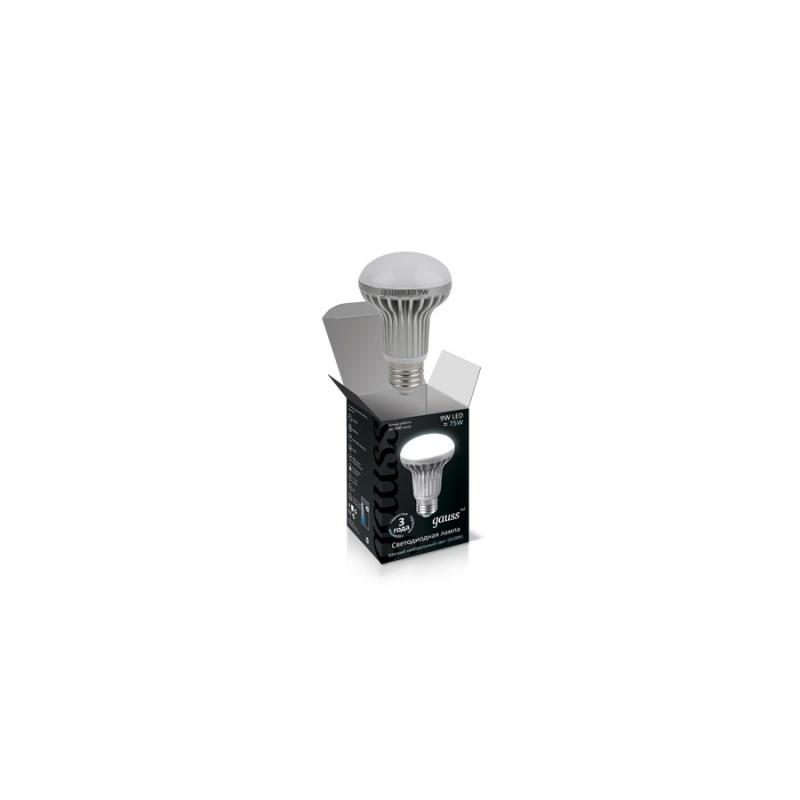 Светодиодная лампа GAUSS Рефлектор 9W E27 4100К 920 Lm