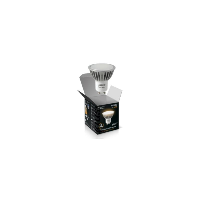 Светодиодная лампа Gauss LED MR16 220V 4W/GU10/2700К 350Lm