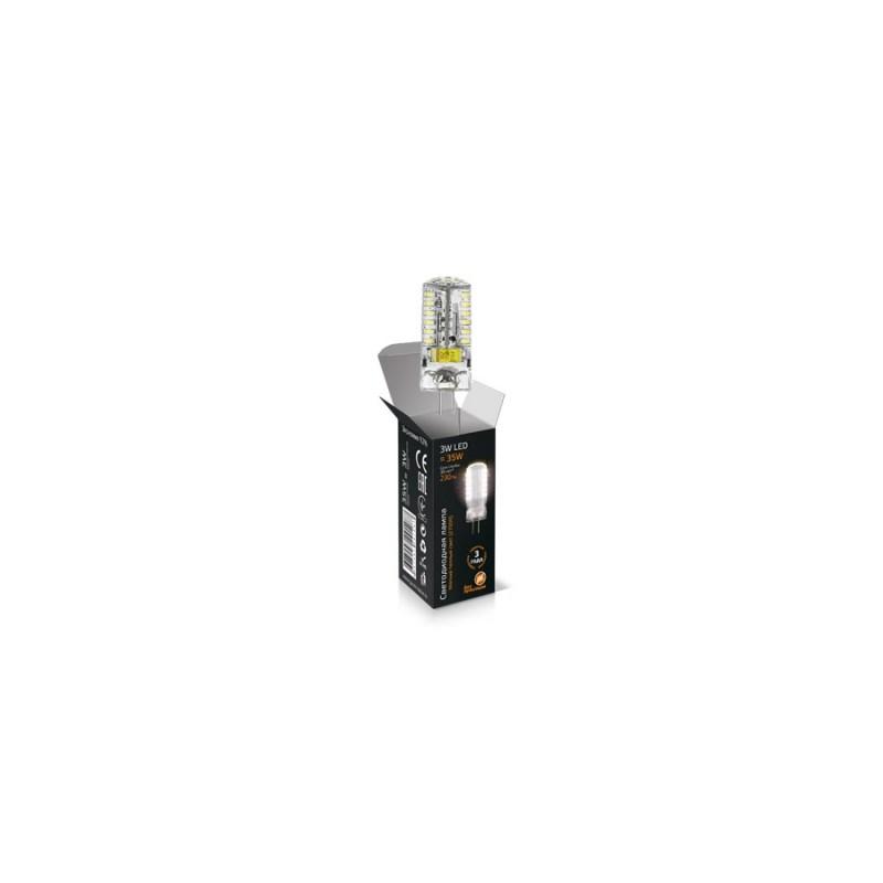Светодиодная лампа Gauss LED JC 220V 3W/G4/3000К 250 Lm