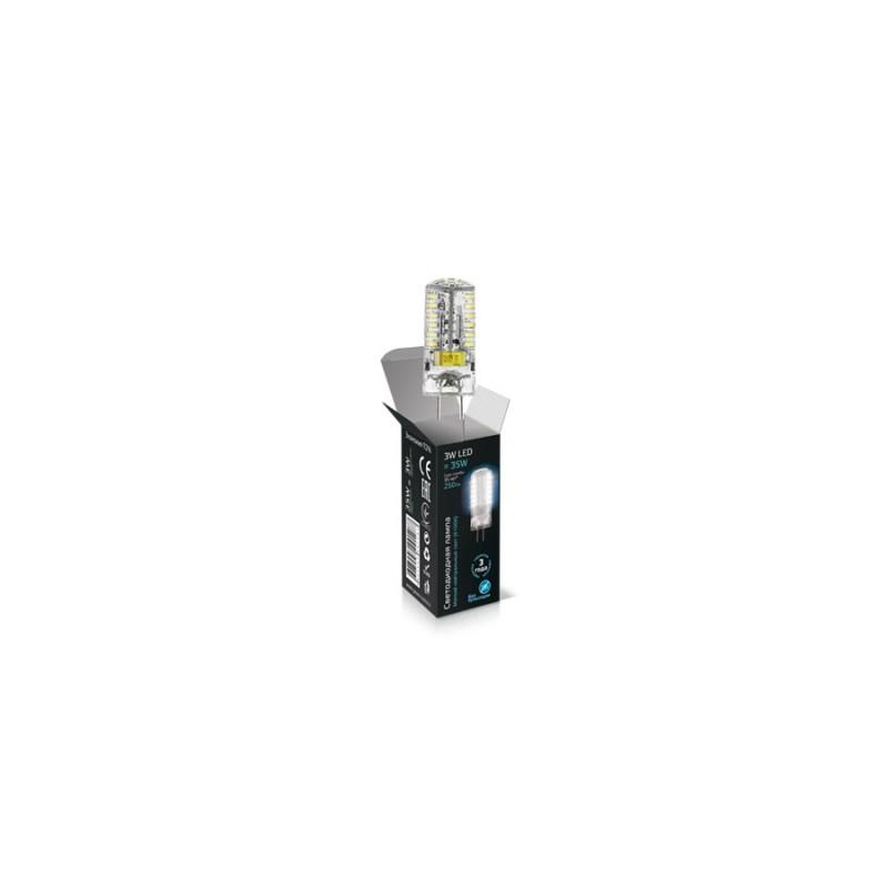 Светодиодная лампа Gauss LED JC 220V 3W/G4/4100К 260 Lm