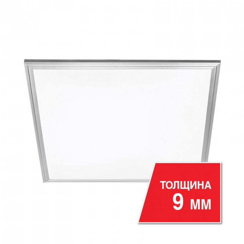 Панель светодиодная LPC40W60 40Вт 230В 6500К 3200Лм 9x595x595мм белая IP20