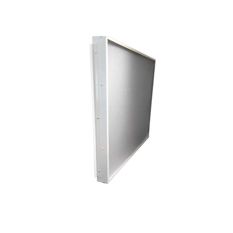 Офисный светодиодный светильник Грильято STELLAR 50 W встраиваемый/накладной 5800Lm 5000K 588x588x40 mm Опаловый