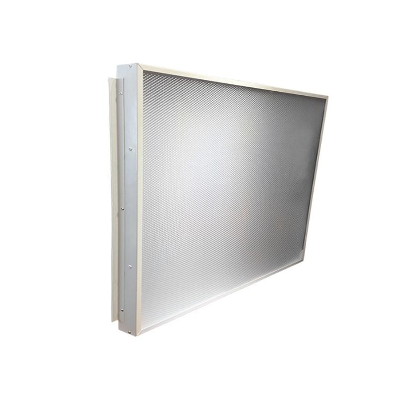 Офисный светодиодный светильник Грильято STELLAR 24 W встраиваемый/накладной 2730 Lm 4000K 588x588x40 mm Опаловый