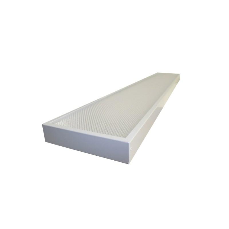 Офисный светодиодный светильник STELLAR OFFICE-LONG 30 W встраиваемый/накладной 3680 Lm 5000K 1200х180x40 mm Призма