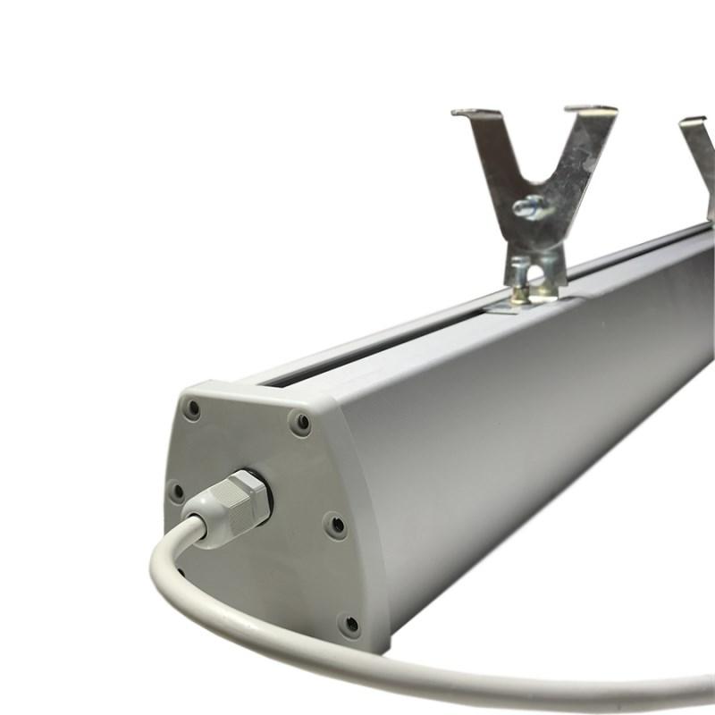 Светодиодный светильник промышленный складской STELLAR серии PROM-25 25W 3055 Lm 5000K 300х75х130 мм