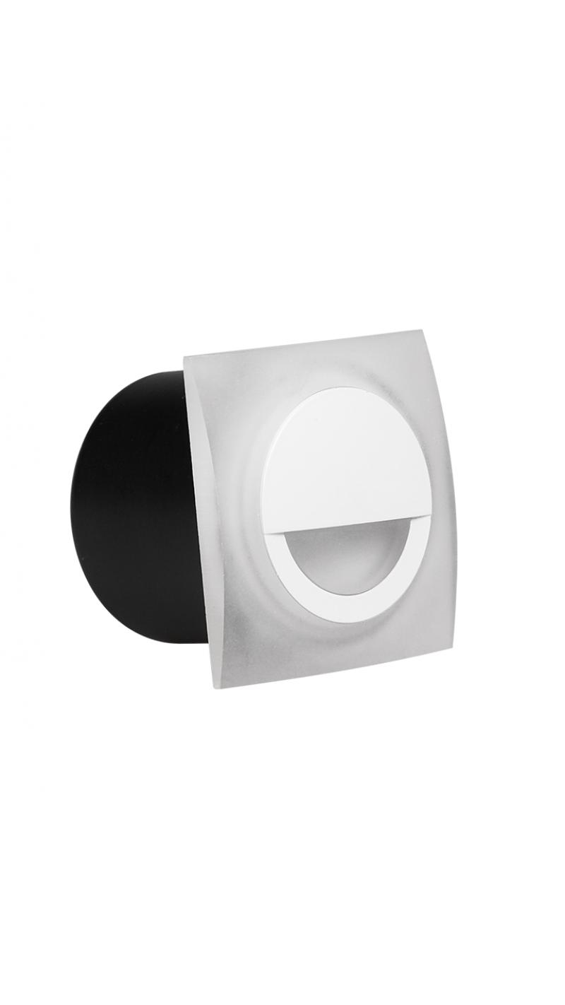 Светильник светодиодный для ступеней PWS/R S7070 4w 4000K белый IP20 Jazzway .5005693
