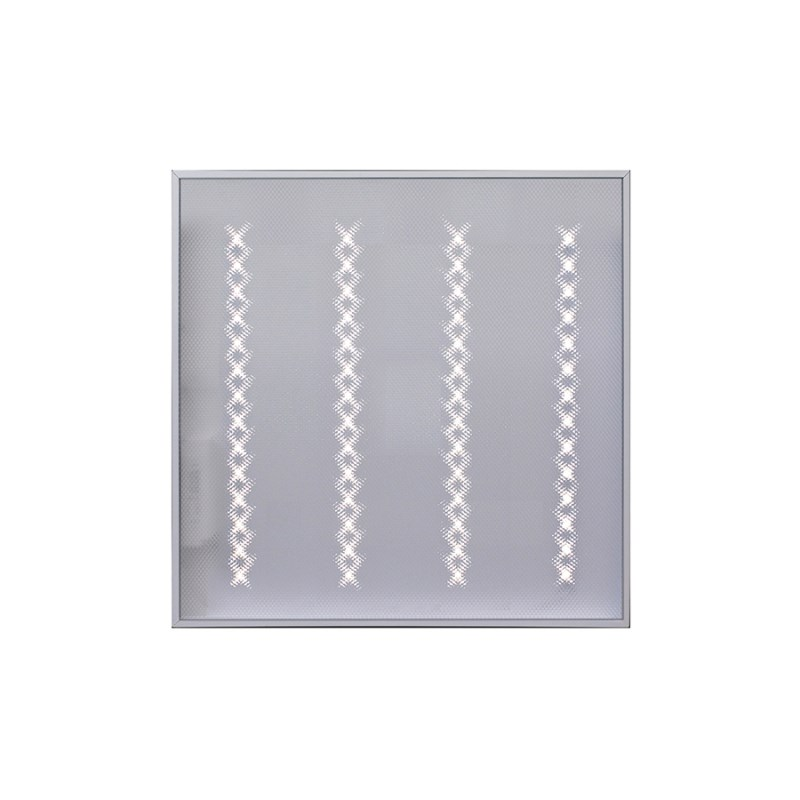 Светодиодный светильник для спортивных залов с защитной решеткой Армстронг STELLAR 50 W накладной 5800 Lm 4000K 595x595x40 mm Призма