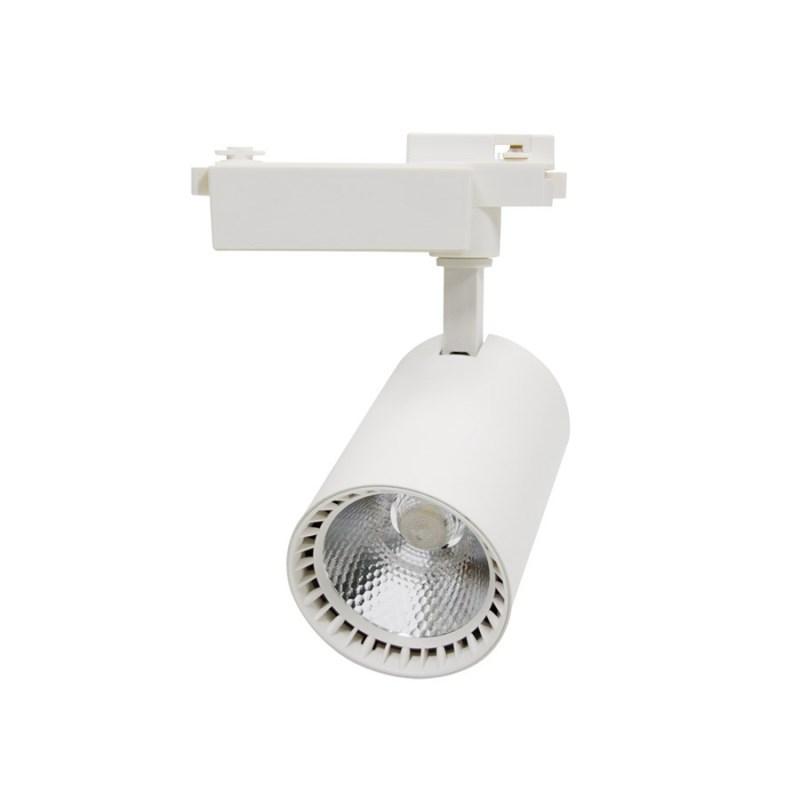 Светильник светодиодный трековый TR-04 14Вт 230В 4000К 1260Лм 89x139x180мм белый IP40 LLT