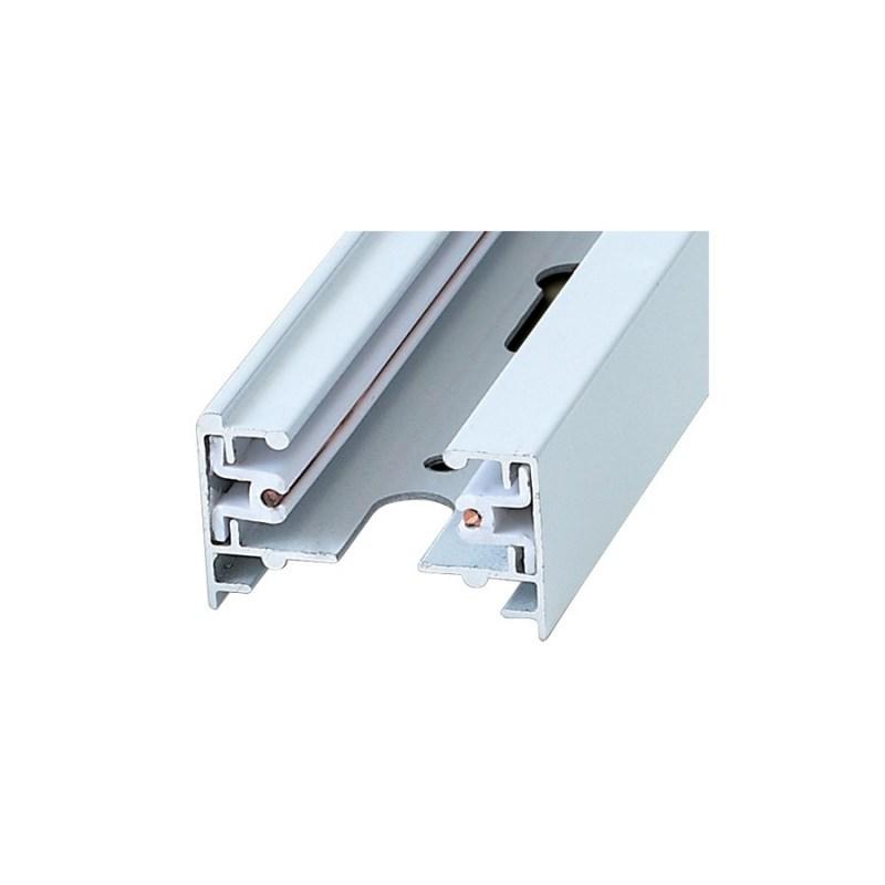 Шинопровод осветительный однофазный для трековых систем освещения UBX-Q121 KS2 WHITE 200 POLYBAG
