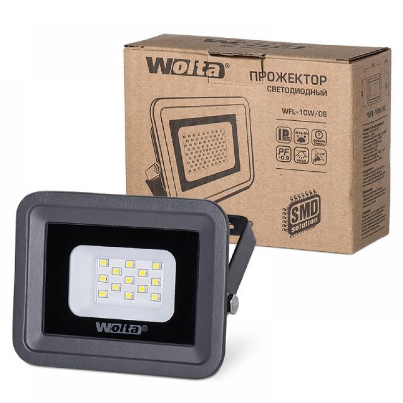 Прожектор светодиодный WFL-10W/06 10Вт 230В 5500К 850Лм IP65