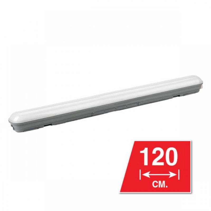 Светодиодный светильник WPL40С120 40 Вт 3400 Lm 6500K 66x76x1200мм IP65