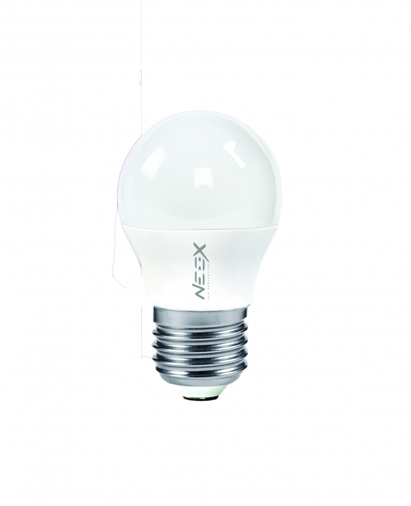 Лампа светодиодная LED-ШАР 5Вт 230В Е27 3000К 400Лм NEOX