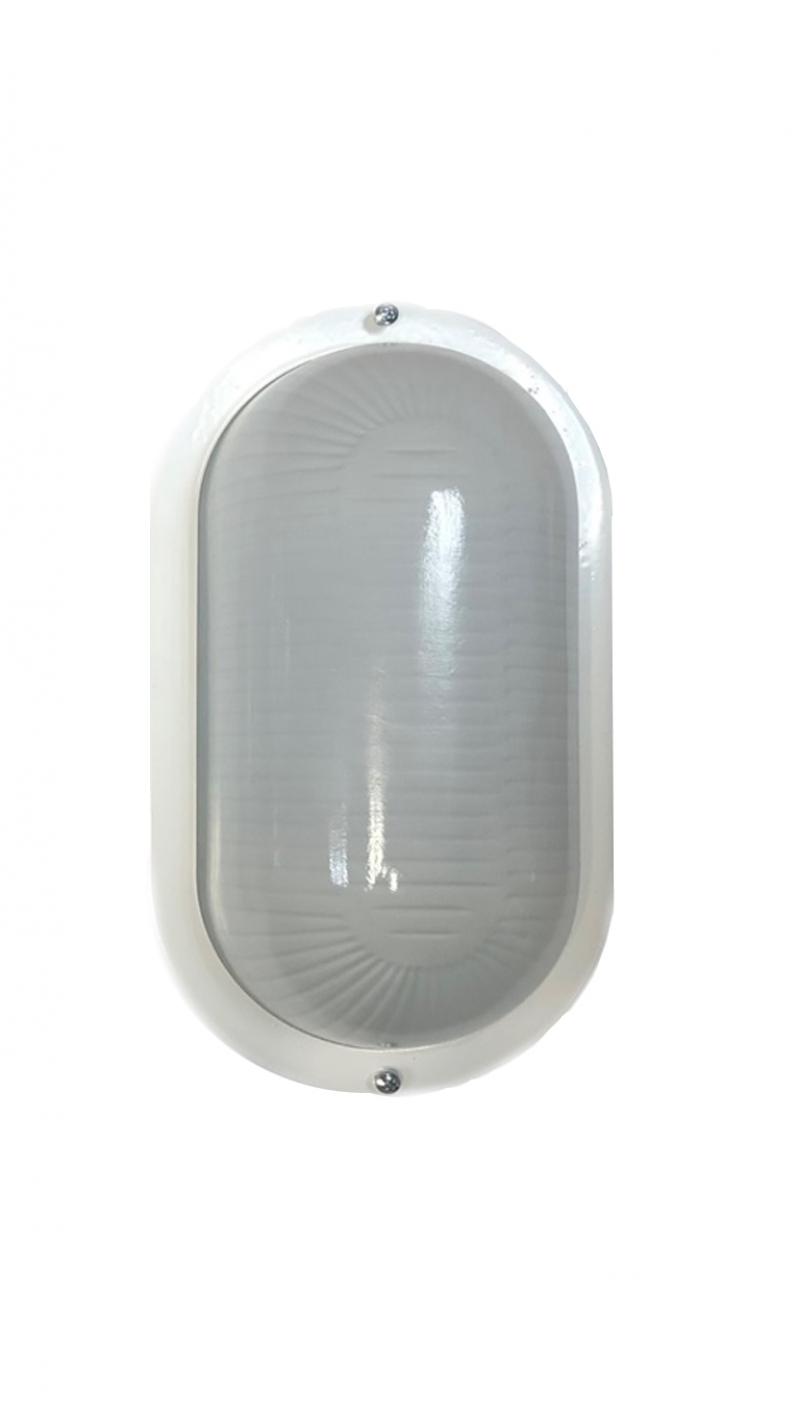 LED светильник ЖКХ-10-П-204 овал 204x114x78мм